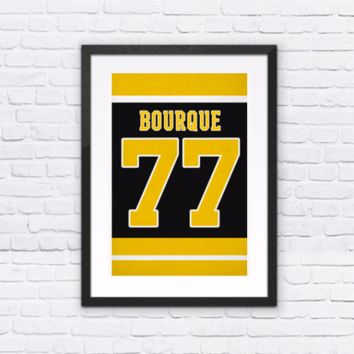 Ray Bourque Number 77 Jersey