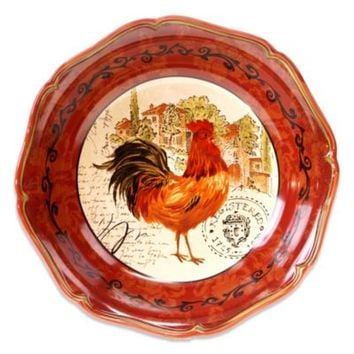 Certified International Tuscan Rooster Pasta/Serving Bowl
