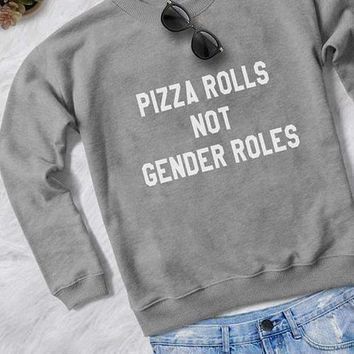 PIZZA ROLLS Sweatshirt