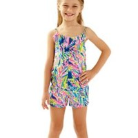 Girls Mini Deanna Romper - Lilly Pulitzer