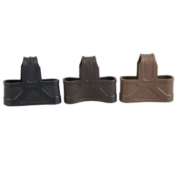5.56 NATO Cage Fast Mag Rubber Loops Magazine Belt Holder For Airsofts M4/16
