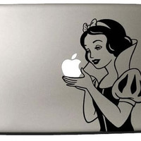 Snow White Macbook Decal by miumius