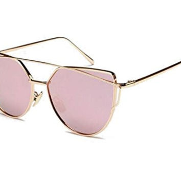 GAMT Vintage Metal Frame the Color Film Polarized Sunglasses