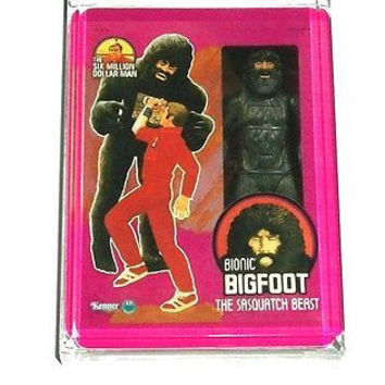 Acrylic The Six Million Doallar Man Bionic Bigfoot Figure Desk Top Paperweight