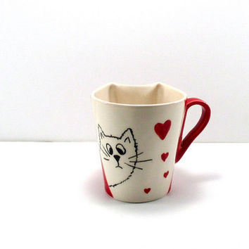 ceramic mug,pottery mug,mug,pottery,coffee mug,handmade mug,ceramic cup,pottery cup,coffee cup,tea cup,handmade,clay mug, tea cup,cat mug