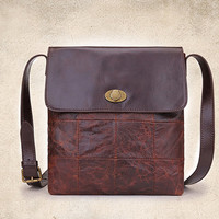 YUANGU Men and women retro package. Full leather. High-quality products YG212