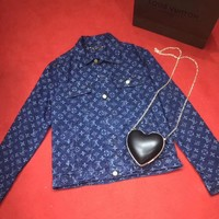 '' Louis Vuitton '' Sweater The cowboy Coat