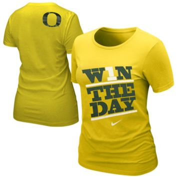 Nike Oregon Ducks Ladies My School Local T-Shirt - Yellow