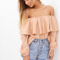 Buy Beau Polka Top Online by SABO SKIRT