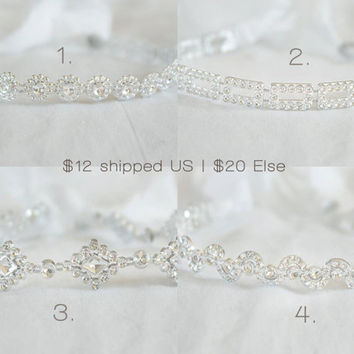 MOVING SALE - Sparkle Tiebacks - photography prop, toddler prop, any age prop, newborn prop, headband prop