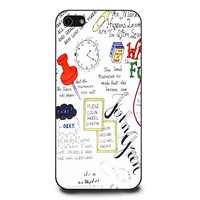 Paper Towns Quotes John Green iPhone 5 | 5s Case