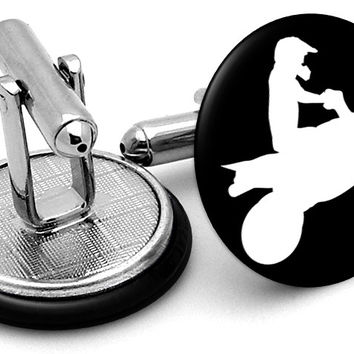Quad Bike Image Cufflinks