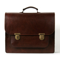 Leather Satchel, Santa Anna by Beara Beara