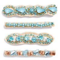 Women's Tasha Jeweled Bobby Pins (4-Pack)