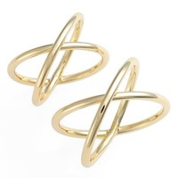 Women's Jules Smith 'Big Bang' Ring & Midi Set - Yellow Gold
