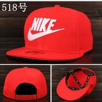 Nike Tech Swoosh Cap, Black/White, Size can be adjusted Red