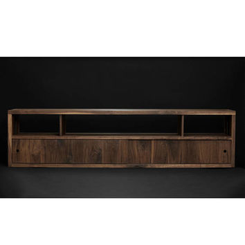 Walnut/Steel Media Console