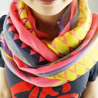 Ethnic Geometry Prints Scarf