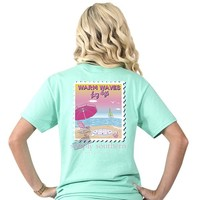 """Simply Southern """"Preppy Warm"""" Short Sleeve Tee"""