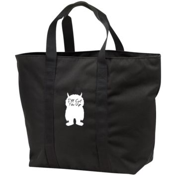 I'll Eat You Up All Purpose Tote Bag