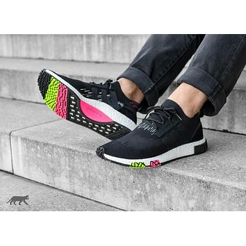 Adidas Nmd Racer Pk Cq2441 Black/pink/green | Best Deal Online