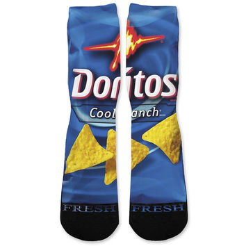 Doritos Cool Ranch Custom Athletic Fresh Socks
