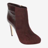 Alexandre Birman Python/Suede Bootie-All-Shoes-Categories- IntermixOnline.com