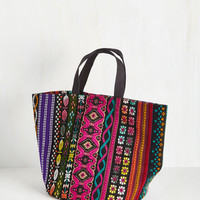 Home Voyage Storage Tote in Floral Tapestry | Mod Retro Vintage Decor Accessories | ModCloth.com