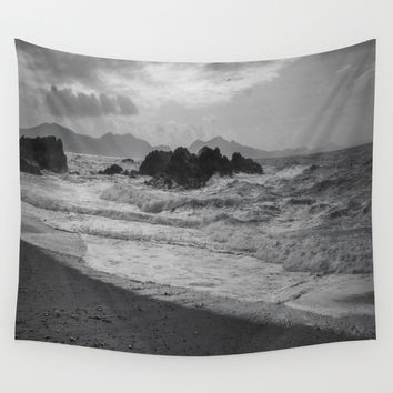Its A New Dawn Wall Tapestry by Ian Mitchell