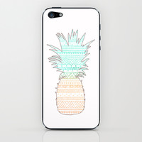 Tribal Pineapple iPhone & iPod Skin by Sunkissed Laughter