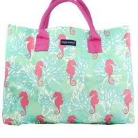 Simply Southern Weekend Tote - Seahorse