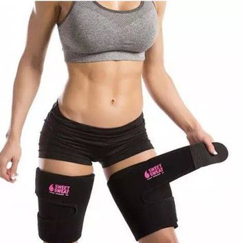 Hot Shapers Women Leg Shaper Slimming Legs Sauna Thigh trimmer Belt Sweat Redu Fat Buring Thermo Weight Loss