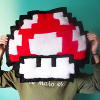 Power Up Pixel Super Mario Bros version pixel Awesome by MOLAPILA