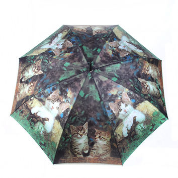 Kitty Cat Umbrella - 50% OFF