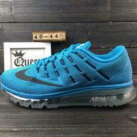 """NIKE"" The new lightweight mesh running shoes sneakers Blue"