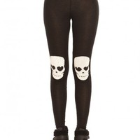 Skull Knee Leggings | GYPSY WARRIOR