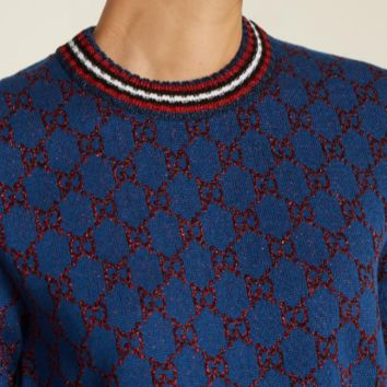 Gucci HOT SALE Round neck long sleeve sweater