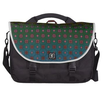 Geometric Abstract Pattern 9 Bag For Laptop