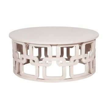 Newport Cocktail Table White