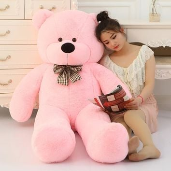 [60-120cm 5 Colors] Giant Large Size Teddy Bear Plush Toys Stuffed Toy Lowest Price Kids Toy Birthday gifts Christmas