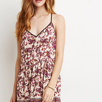 Paisley Y-Back Cami Dress