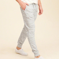 Guys Ripped Skinny Fleece Jogger Pants | Guys Clearance | HollisterCo.com