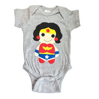 Super Hero Onesuit - Wonder Girl