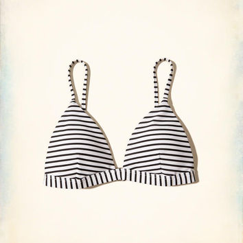 Girls Patterned Triangle Swim Top | Girls Swim | HollisterCo.com