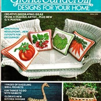 70's Gloria Vanderbilt Designs for Your Home a McCall's Do-it-Yourself Guide Groovy 70's Arts & Crafts Fashion and Home Decor Publication