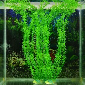 2016 30cm Underwater Artificial Plant Grass for Aquarium Fish Tank Landscape Decor