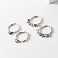 Statement Hoop Earring Set - Urban Outfitters
