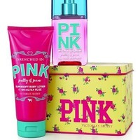 Must Have Gift Tin Victorias Secret Pink Pretty & Pure