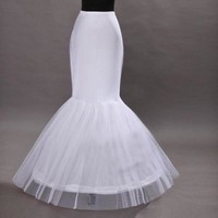 Mermaid wedding dress petticoat A#APXPF