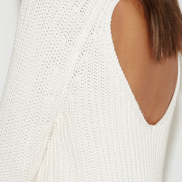 Kendall and Kylie Open Back Mock Neck Sweater at PacSun.com